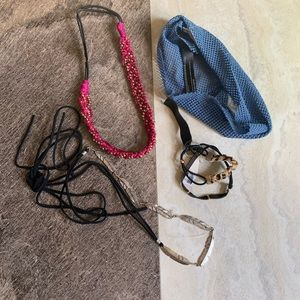 Free people hair accessories lot